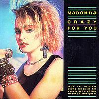Madonna - Crazy For You cover