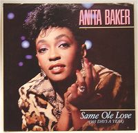 Anita Baker - Same Ole Love (365 Days A Year) (fade out) cover
