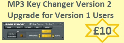 MP3 Key Changer V2 Upgrade