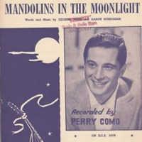 Perry Como - Mandolins in the Moonlight cover